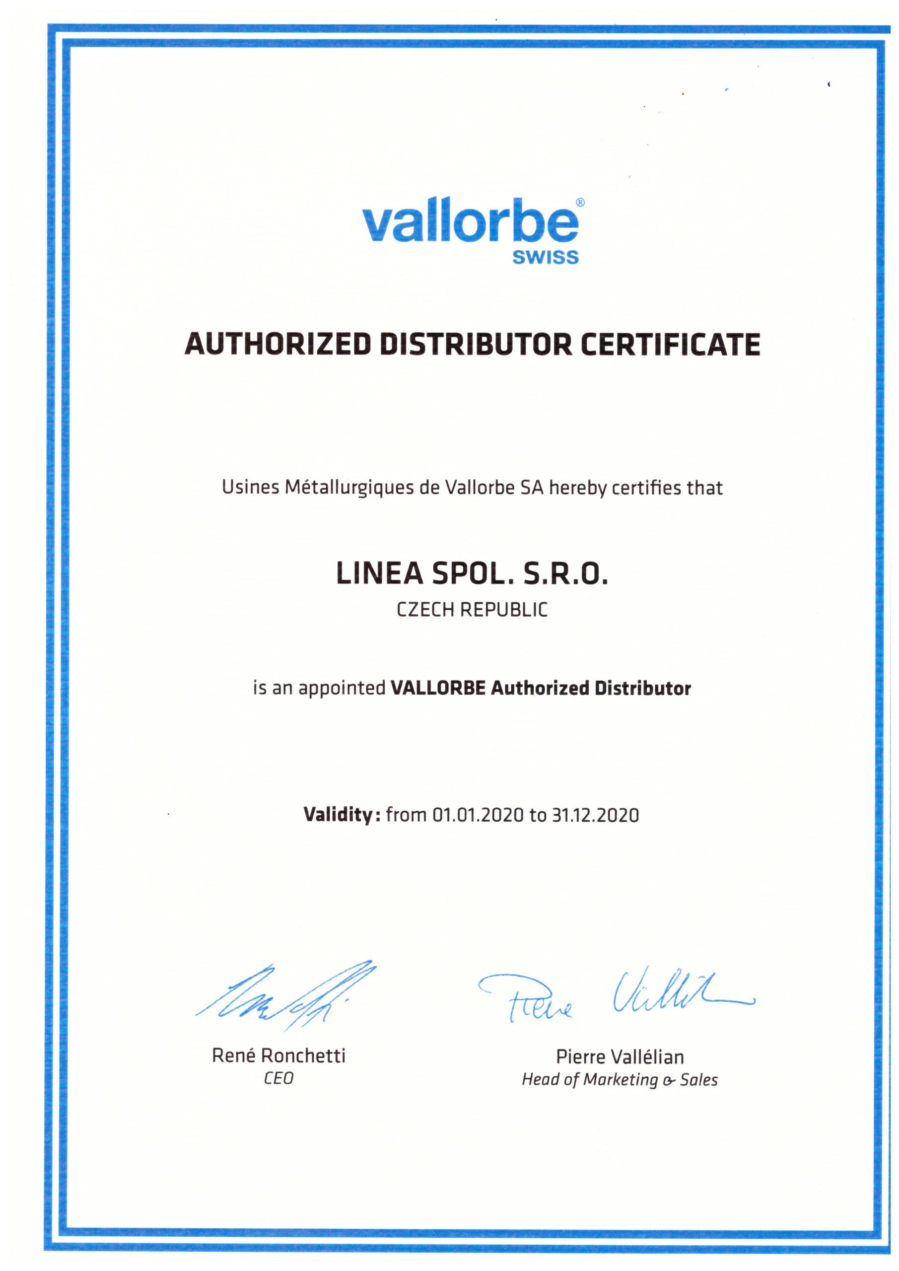 UMV certifikát 2020
